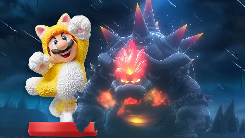 Super Mario World 3D Bowsers Fury Nintendo Switch amiibo Trailer